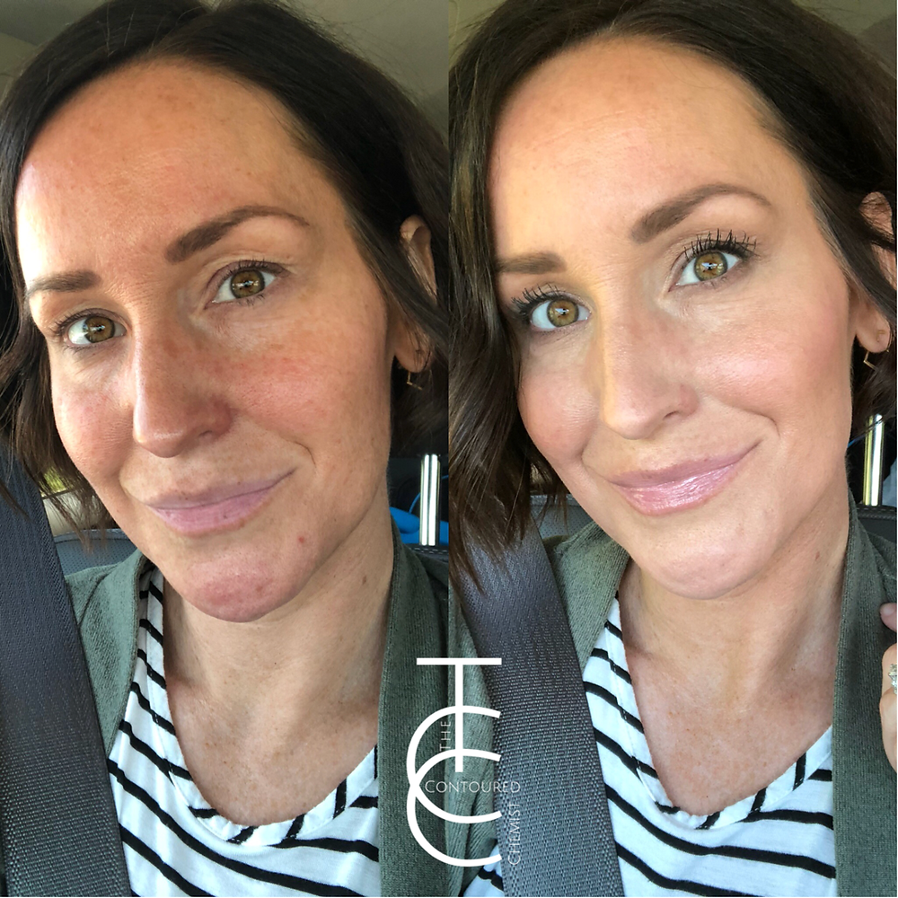makeup made for busy moms 5 minute Highlight and contour