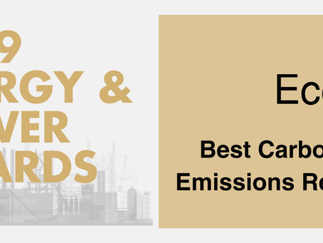 EcoSecurities awarded Best Carbon Asset Development & Emissions Reduction Consultancy