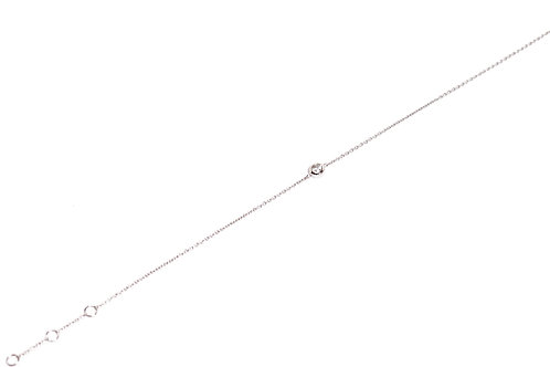Bracelet Solitaire Blanc BROGD263
