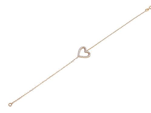 Bracelet coeur BROJD317