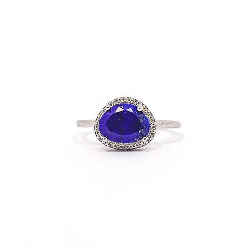 Bague Lapis-lazuli BGOGD602