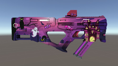 Halloween Themed Gun Skin
