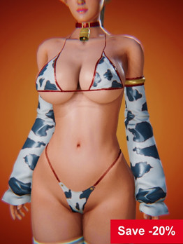 Cow Girl Outfit Skin