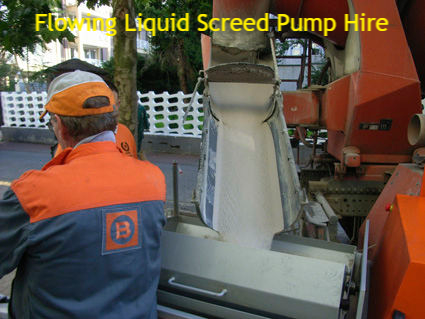 Screed Pump Hire - Bodham Norfolk