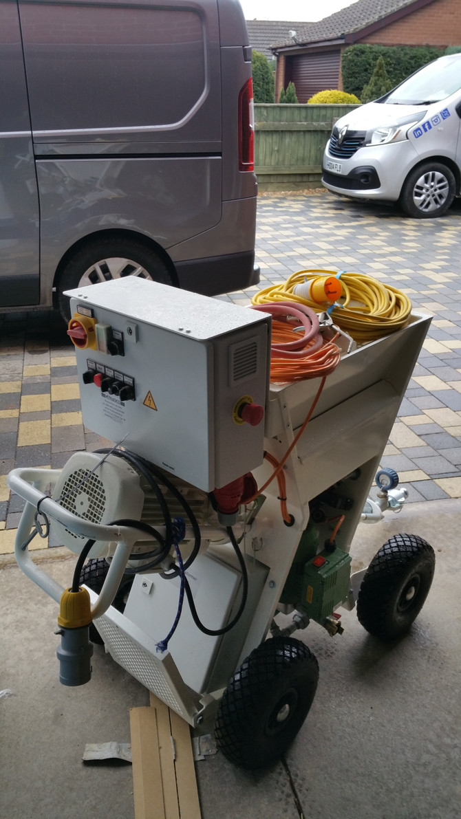 New Batch Pump Arrived