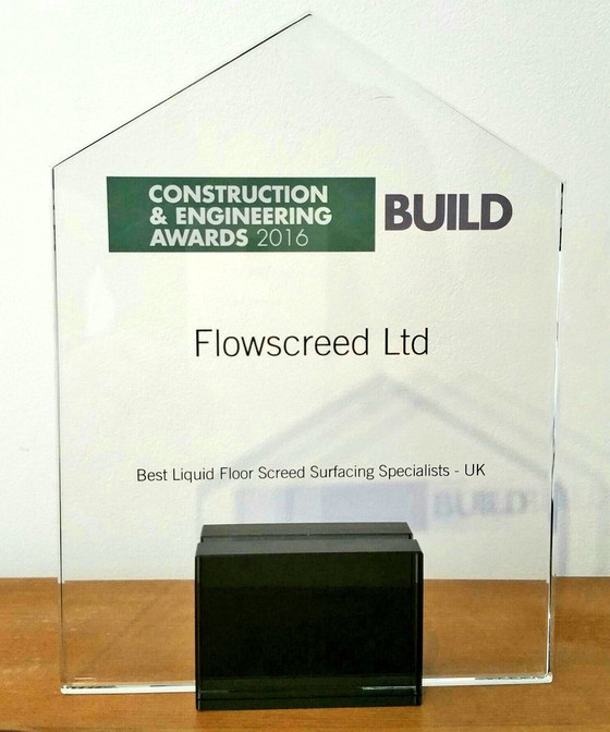 Flowscreed Build Awards Winner 2016