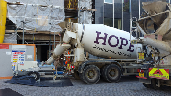 What makes flowing concrete so special?