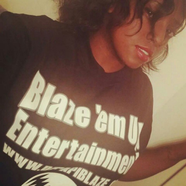 Instagram - Shout out to @nolovlst  rocking the Blaze ' em Up Entertainment Shirt keeping it fresh t