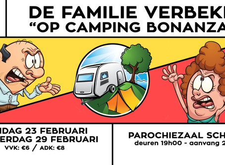 "Toneel 2020: De familie Verbeke ""op camping Bonanza"""