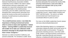Local Business Owner Danavan Hylton Named to NSBA Leadership Council