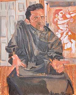 Daniel Donato_Self-portrait in Cardinal