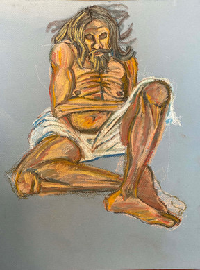 Donato_Fasting_16by 12 inches_2020.jpg