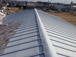 長尺瓦棒屋根/塗装工事
