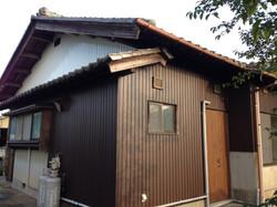 木造住宅一部外壁張替