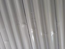 太陽光発電取付業者(素人)雨漏れ現況