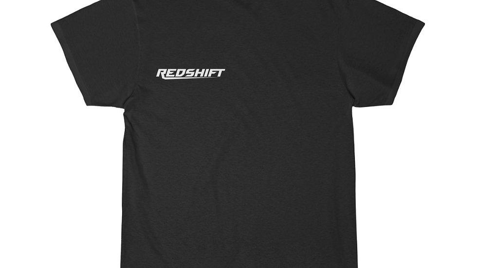 Sleek White Redshift Men's Short Sleeve Tee