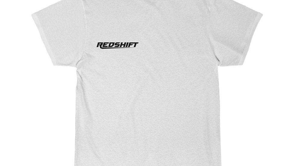 Sleek Black Redshift Men's Short Sleeve Tee
