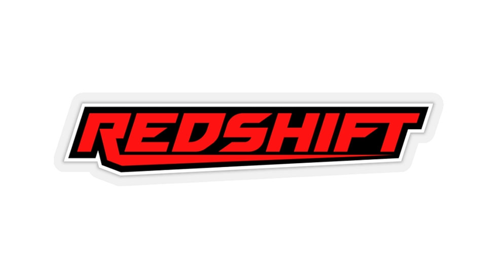 Redshift Sleek Bordered Kiss-Cut Stickers