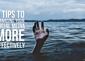 5 Things You Should Be Doing To Manage Your Socials