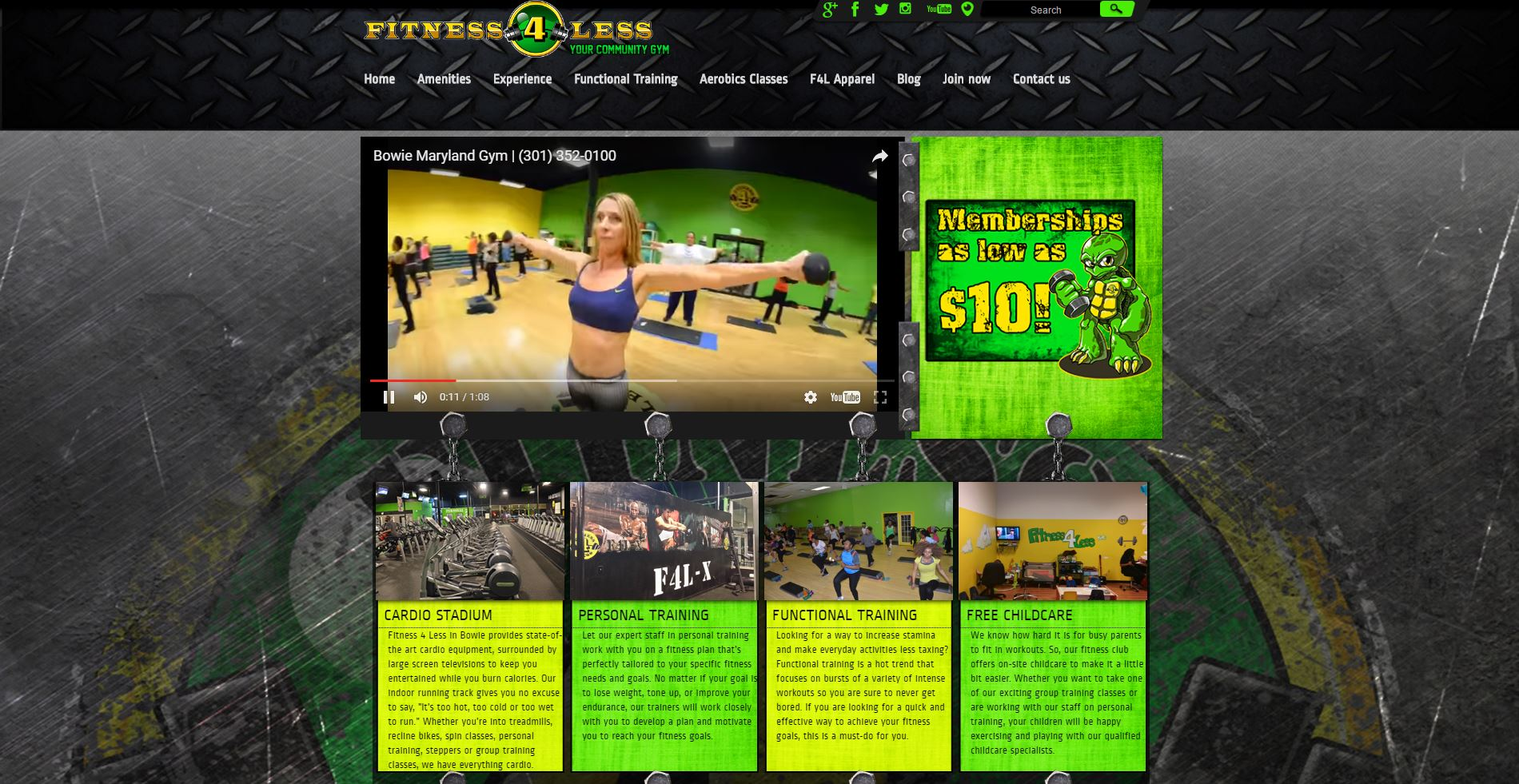 Fitness 4 Less Gyms