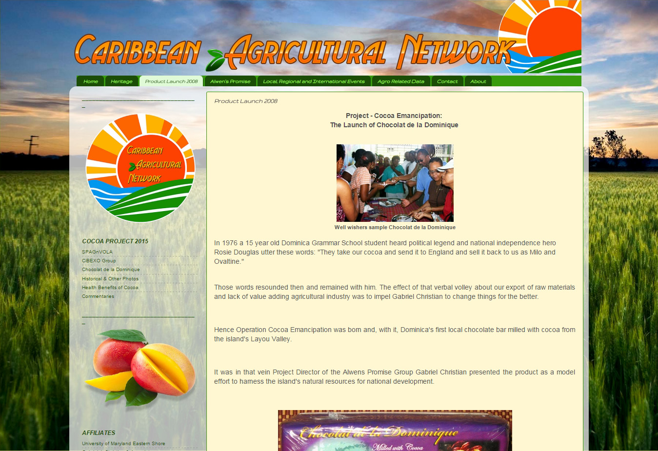Caribbean Agricultural Network