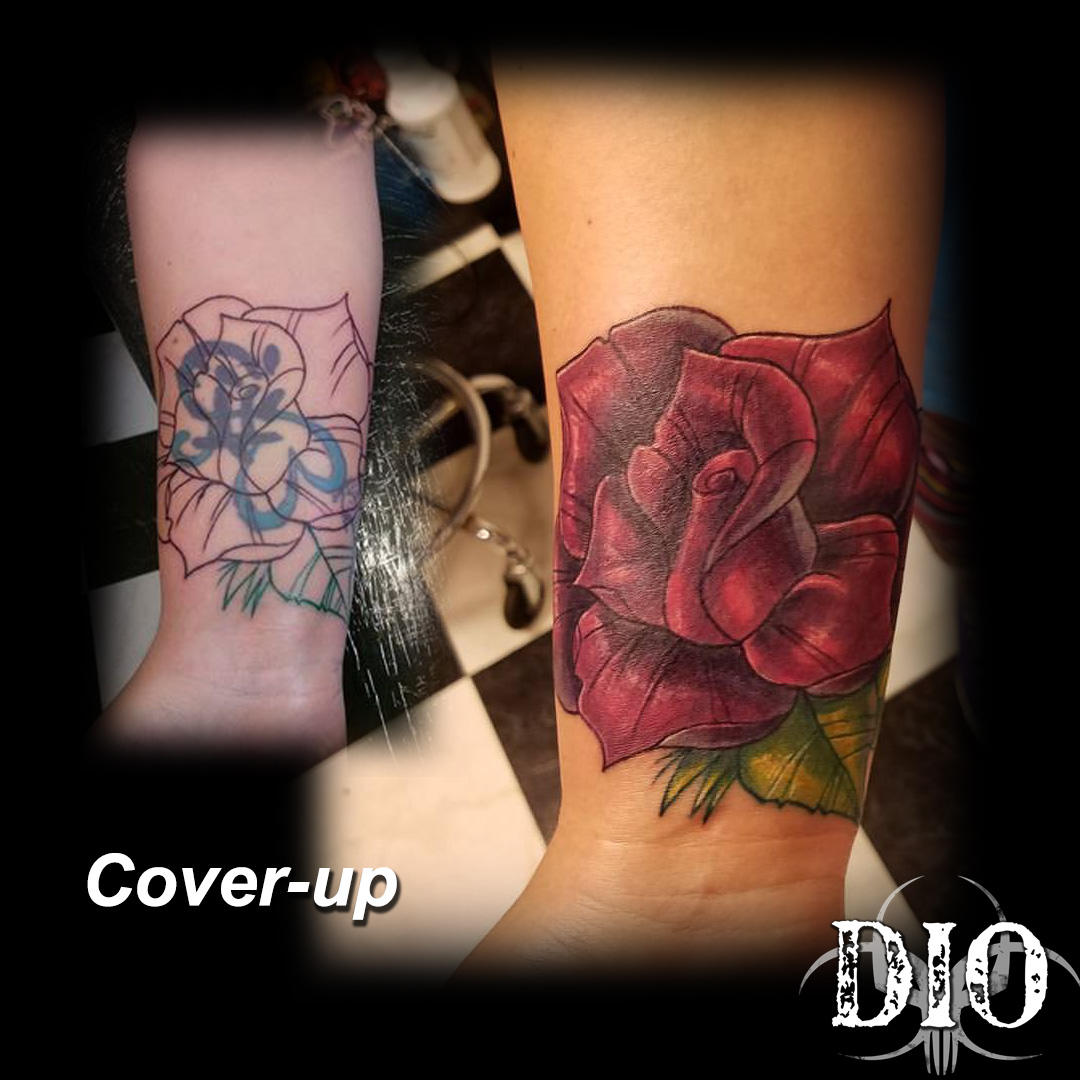 rose cover-up
