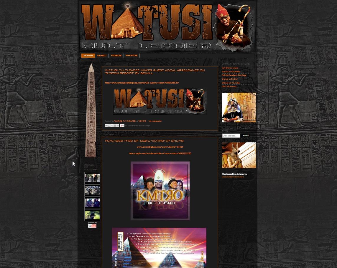 Watusi Cult Leader
