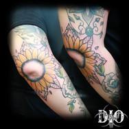 sunflower mandala on elbow.jpg