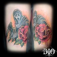 scream ghost face & bloody rose.jpg
