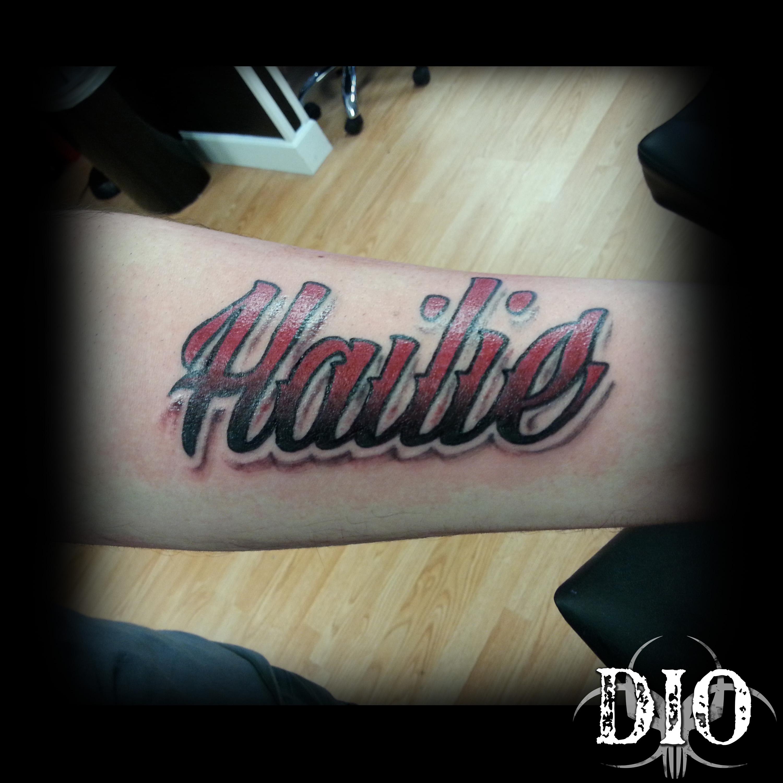 Hailie script