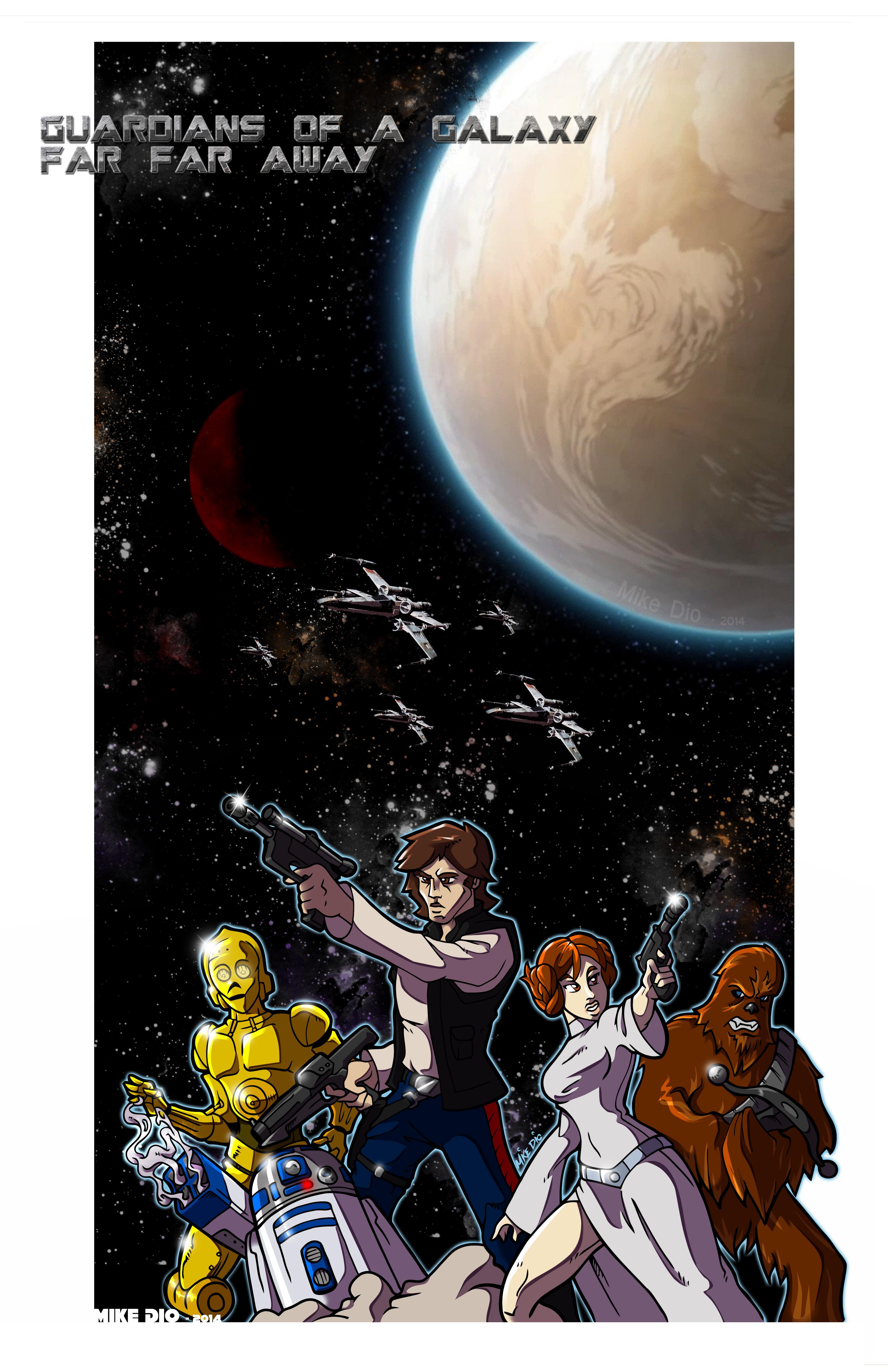 Guardians of a Galaxy Far Far Away