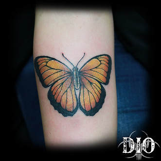 yellow butterfly on forearm.jpg