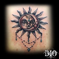 sun & moon mandala