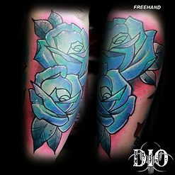 freehand teal & purple roses.jpg