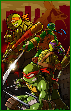 Heroes in a half shell