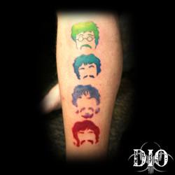 Beatles heads
