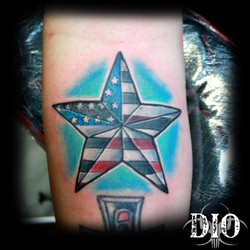 US nautical star