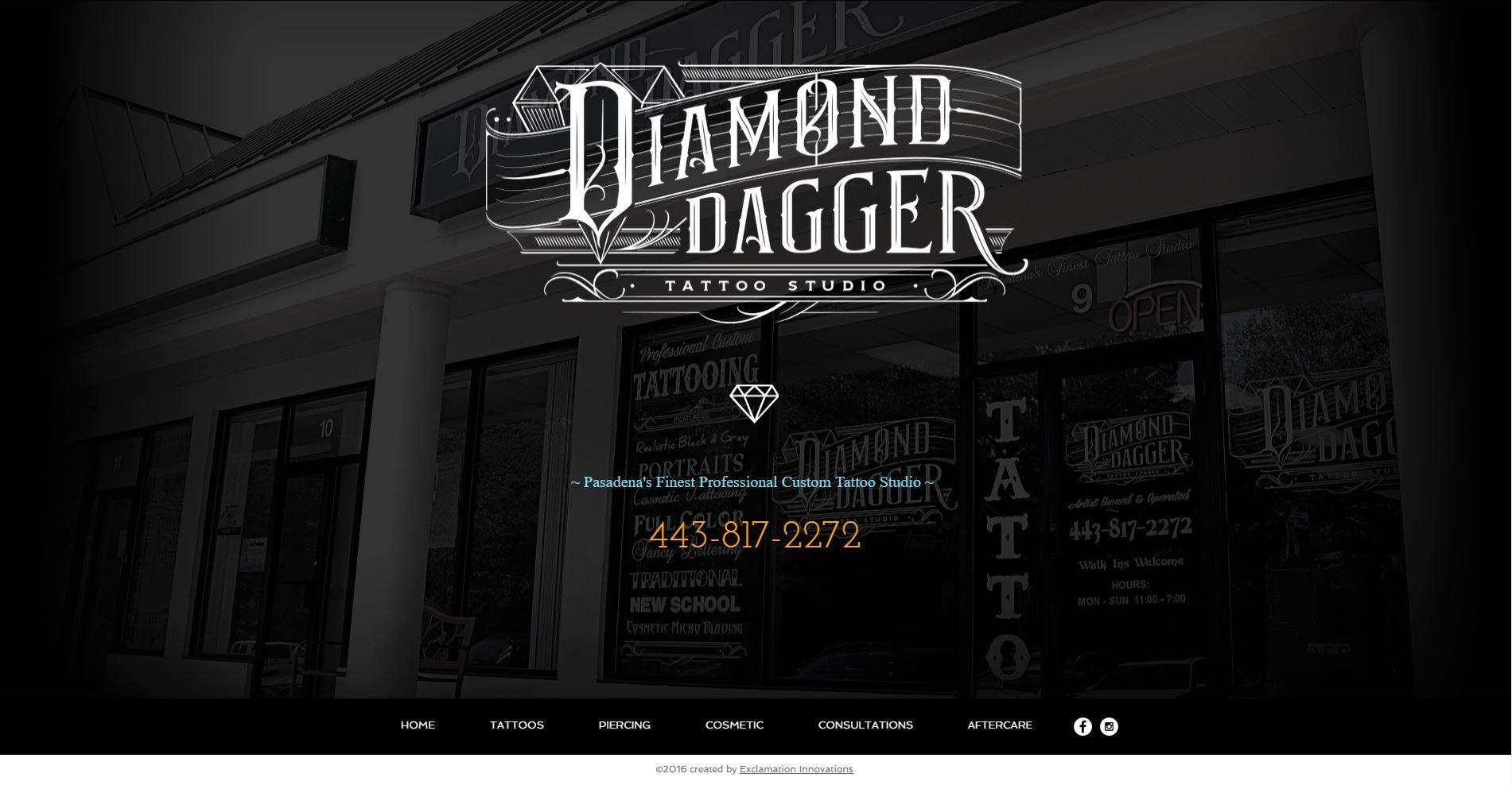 Diamond Dagger Tattoo Studio