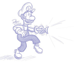 Sketch_a_Day_10___Luigi_by_Timestones