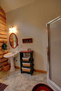 Upstairs 3/4 Bath