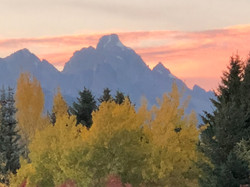 fall colors and grand zoomed in