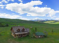Dell Creek Cabin Aerial_