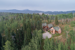 Aerial view of Moose Hill