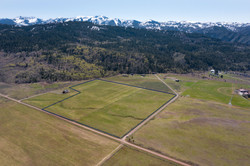 Bryan Flat 35 Acres outlined
