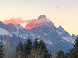 Grand Teton zoomed in