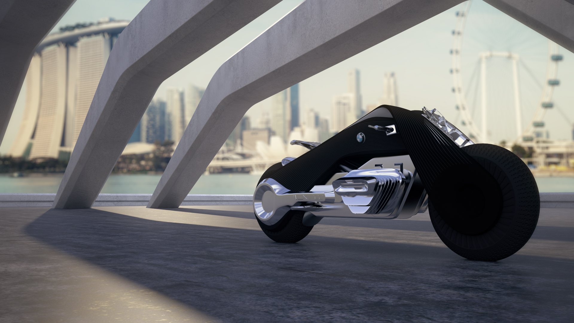 BMW NEXT 100 MOTORCYCLE CONCEPT