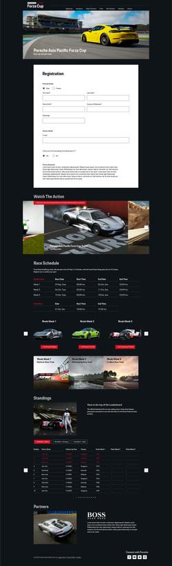 Porsche Microsite Mobile
