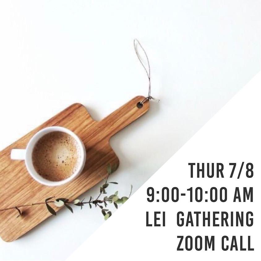 LEI Gathering | Virtual Coffee