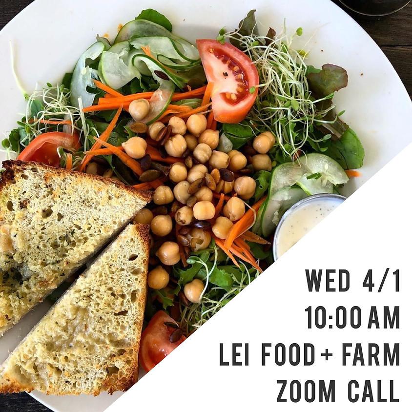LEI Weekly   Farm + Food