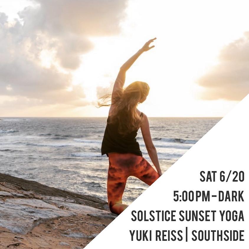 Solstice Sunset Yoga
